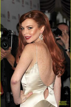 "Lindsay Lohan: Premiere of ""Liz & Dick"""