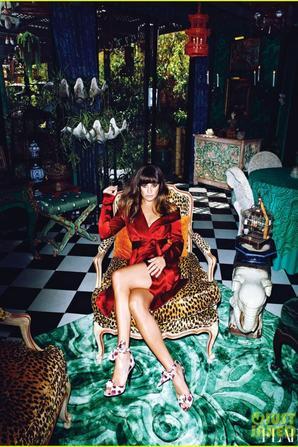 Lea Michele Covers 'Flare' January 2013