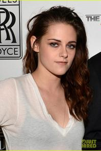 Kristen Stewart Flaunts Bra at Variety Awards Studio!