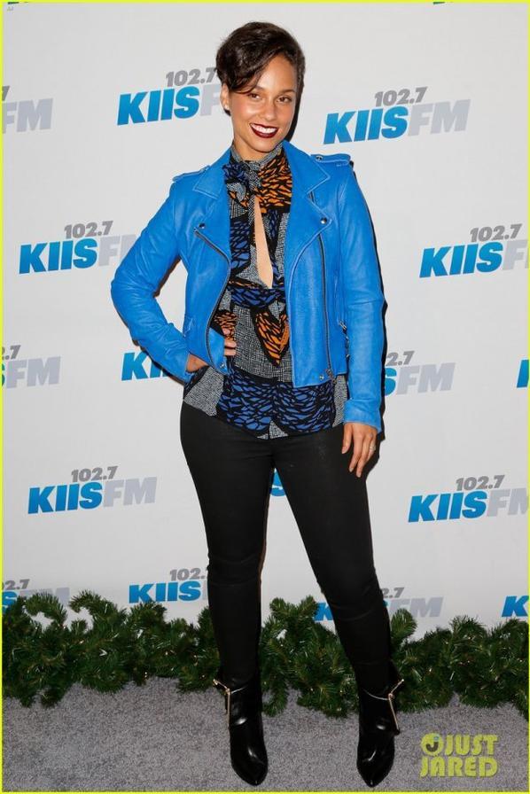 Ke$ha & Alicia Keys: KIIS FM's Jingle Ball 2012!