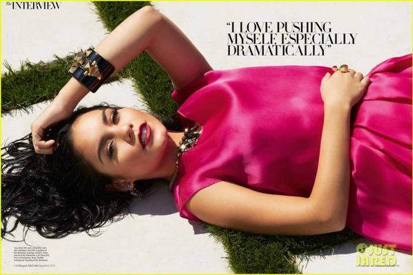 Vanessa Hudgens Covers 'Harper's Bazaar Arabia'!
