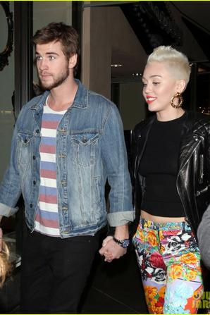 Miley Cyrus & Liam Hemsworth: Noah Cyrus' Birthday Bash!