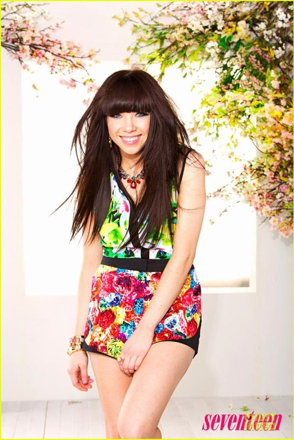 Carly Rae Jepsen Colors 'Seventeen' Magazine March 2013