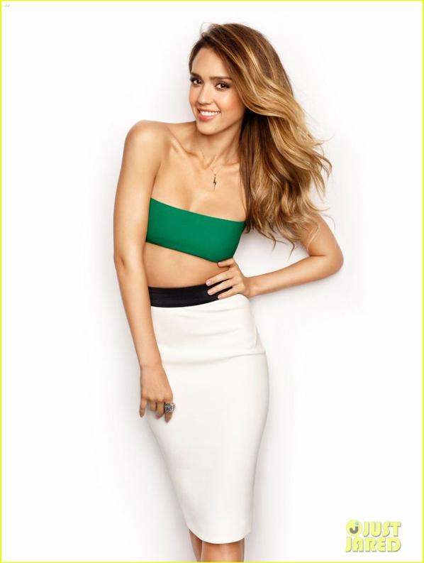 Jessica Alba Covers Women's Health March 2013