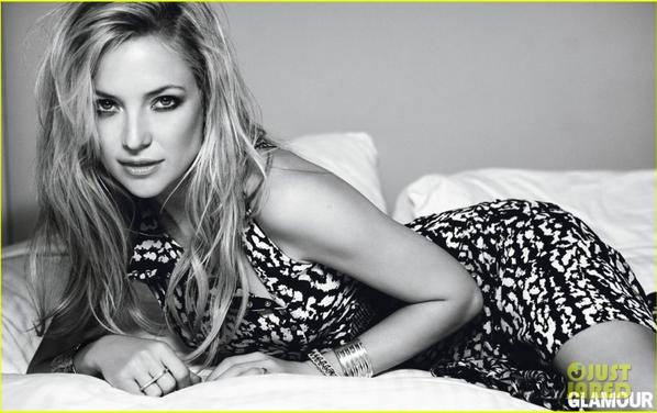 Kate Hudson: Topless for 'Glamour' April 2013