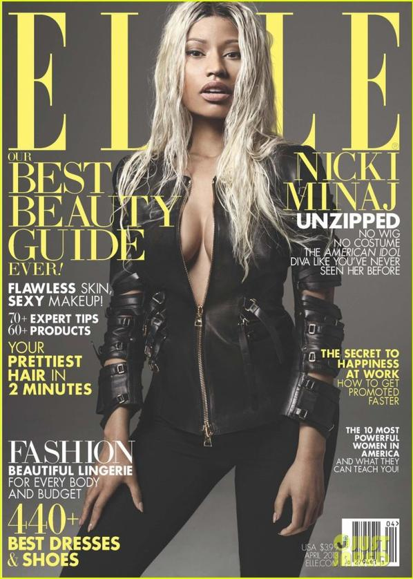 Nicki Minaj Covers 'Elle' April 2013