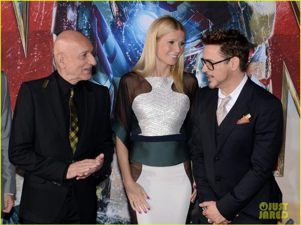 'Iron Man 3' Hollywood  Premiere!