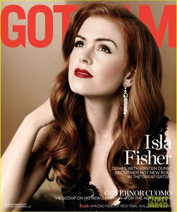 Isla Fisher: 'Gotham' Magazine