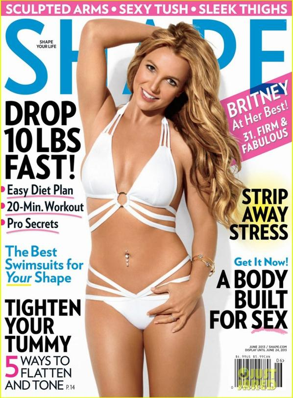 Britney Spears: Bikini Body for 'Shape' June 2013!