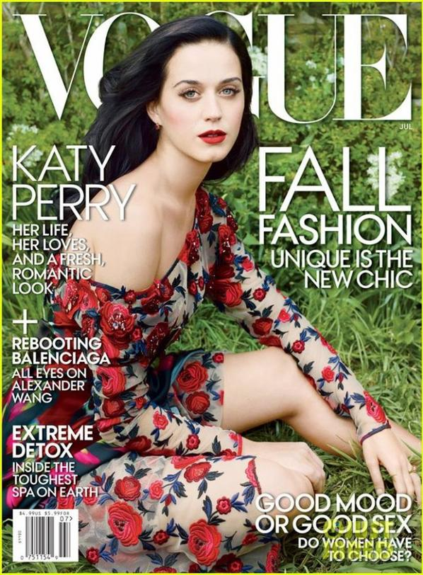 Katy Perry Covers 'Vogue' July 2013