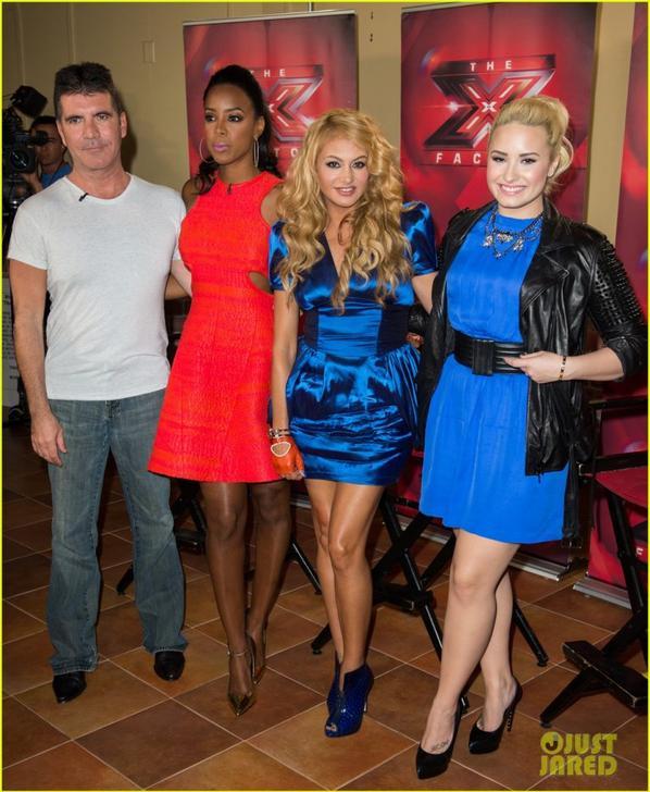 Demi Lovato & Kelly Rowland: 'X Factor' Long Island Auditions!