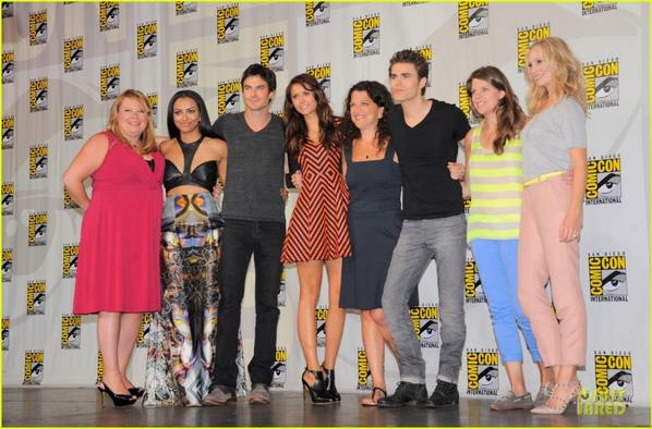 'Vampire Diaries' at Comic-Con!