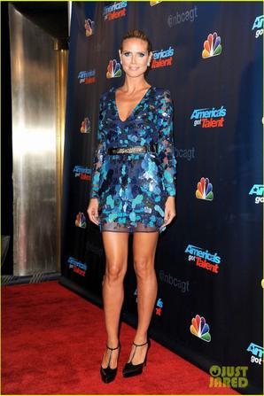 Heidi Klum & Mel B: 'America's Got Talent' Results Show!