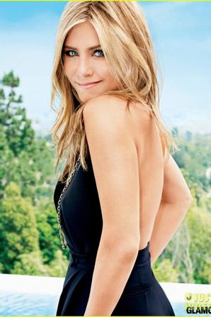 Jennifer Aniston Covers 'Glamour' September 2013