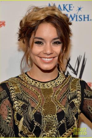 Vanessa Hudgens: WWE's SuperStars for Hope Event!