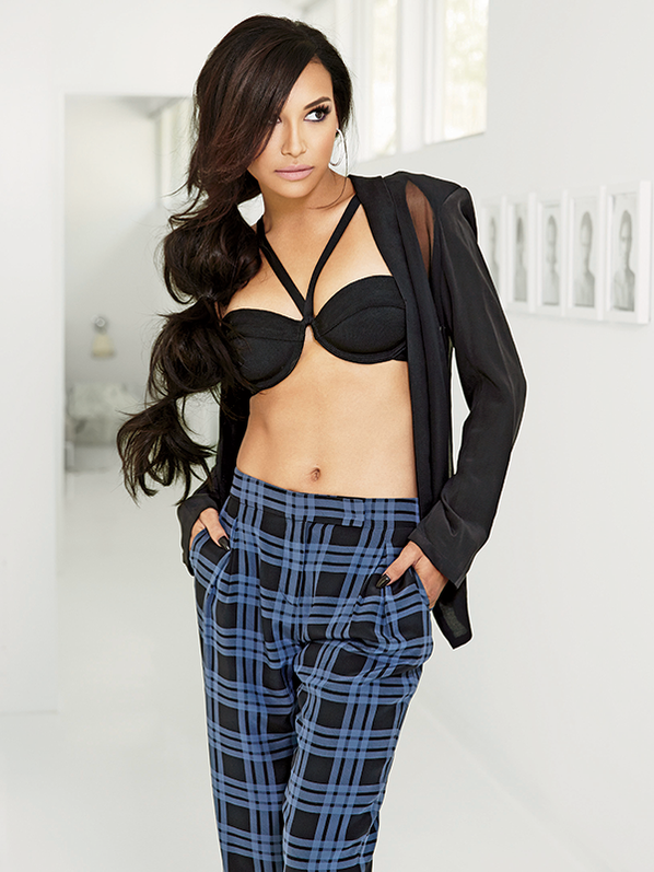 Naya Rivera Covers 'Latina' October 2013