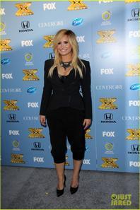 Demi Lovato : 'X Factor' Premiere Party!