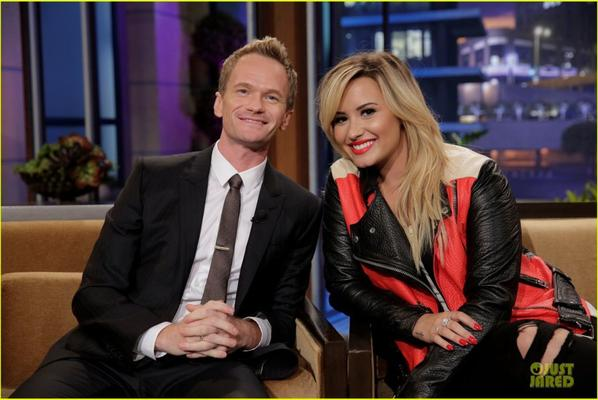 Demi Lovato  Appears on 'Leno'!