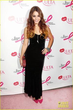 Vanessa Hudgens Donates a Kiss at ULTA Beauty Event!