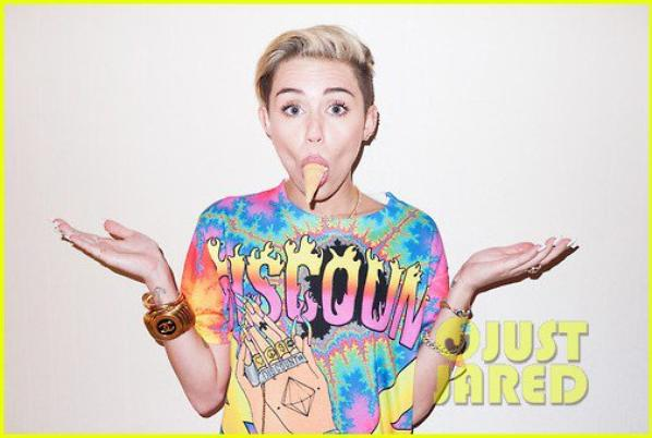 Miley Cyrus : Terry Richardson Photo Shoot