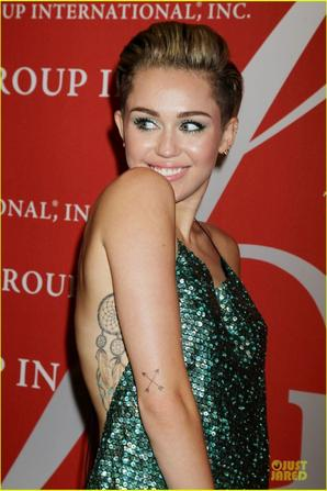 Miley Cyrus Dazzles the Night Of Stars Gala 2013!