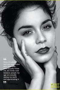 Vanessa Hudgens Covers 'Flare' Magazine February 2014