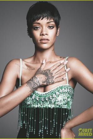 Rihanna : Vogue March 2014