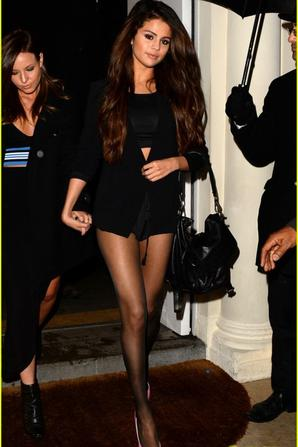 Selena Gomez Shows Off Legs for Days on Night Out in London