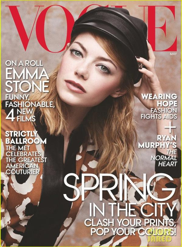 Emma Stone Covers 'Vogue !