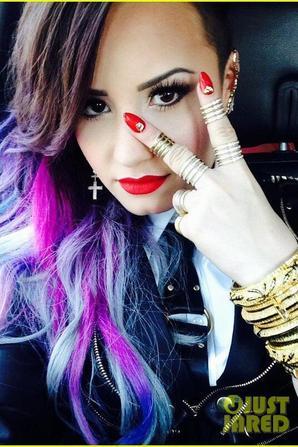 Demi Lovato Brings Colorful 'Really Don't Care' Performance to LA Pride 2014!