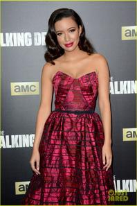 Austin Nichols & Chloe Bennet :  'The Walking Dead' Fan Premiere Event