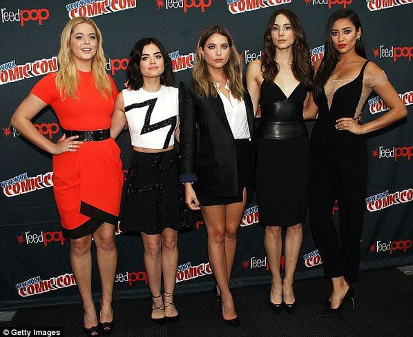PLL Cast at NY Comic Con