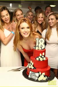 Bella Thorne Celebrates Her 18th Birthday