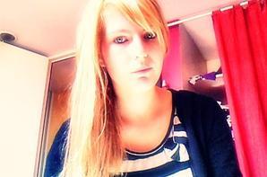 moi avant ( brune ) et après ( blonde )