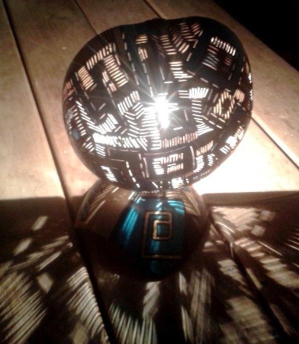lampe 1/2 batik VENDU