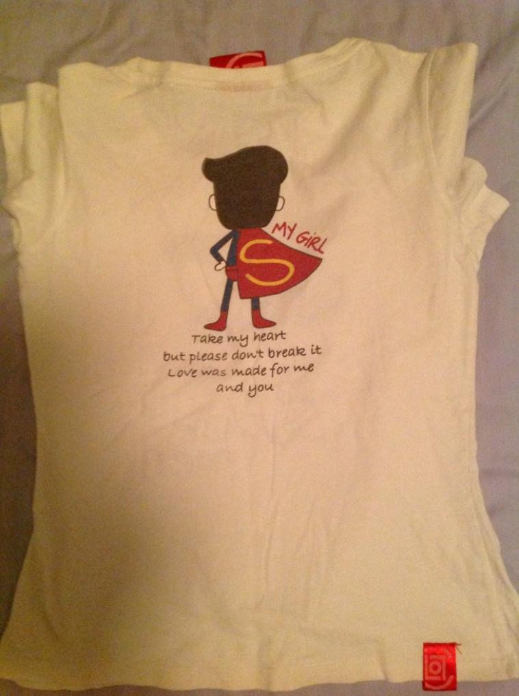 TEE SHIRT SUPERMAN, TAILLE XS