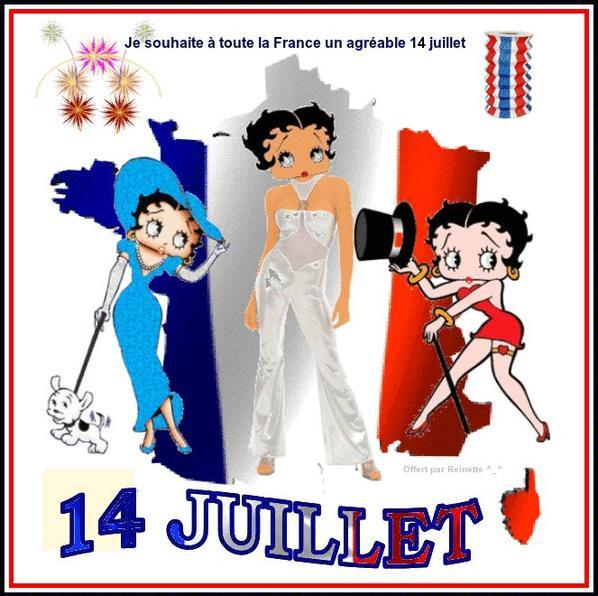 Belle fête nationale à nous tous Français..