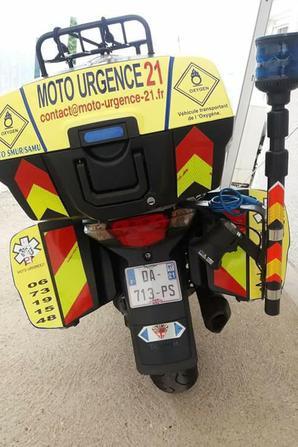 pour la bonne cause '' moto urgence 21