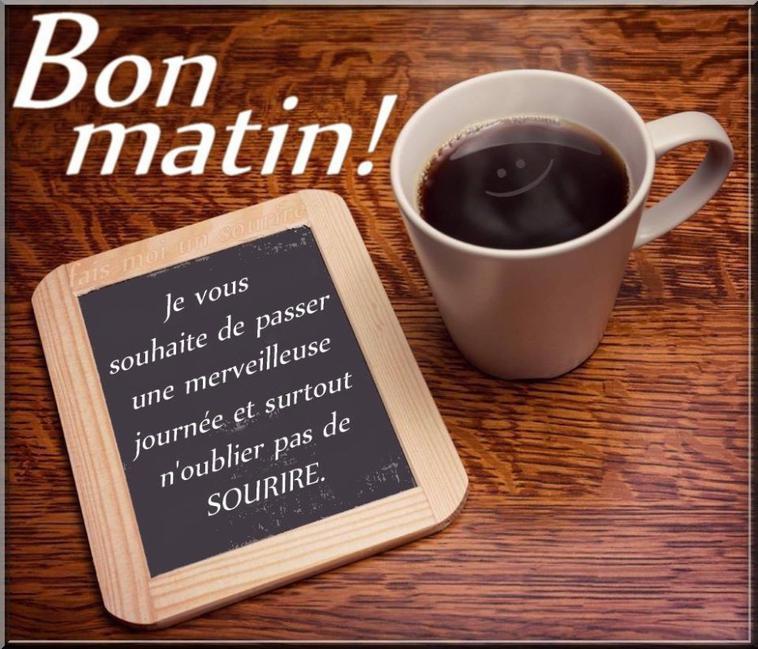 bon matin !!!!!!!!
