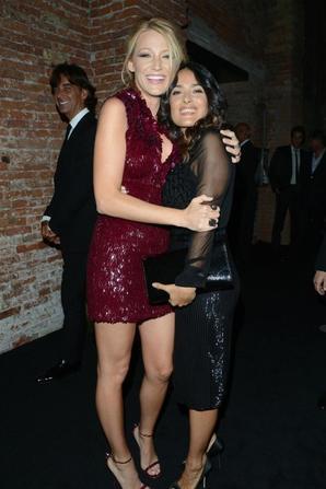 """CANDID 01/09 : Blake étais à Venise pour y présenter son film """"Savages"""" et pour lancer le nouveau parfum Gucci."""