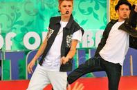 Believe Tour . こんにちは . Justin en concert au Japon :$
