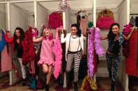 "Little Mix in ""Teen Vogue"" backstage xAx :"
