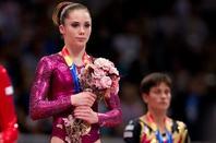 Article Flashback : Octobre 2011   McKayla lors des championnats du monde à Tokyo.