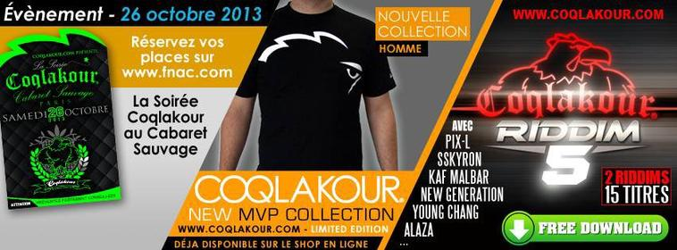 "NEW COLLECTION ""MVP COQLAKOUR"" DISPONIBLE !!!"