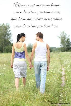 La vie c'est des étapes... La plus douce c'est l'amour... La plus dure c'est la séparation... La plus pénible c'est les adieux... La plus belle c'est les retrouvailles.