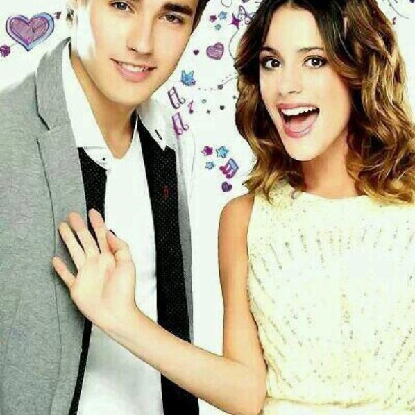 le meilleur couple de violetta Leon et Violetta