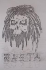 dessin skulls