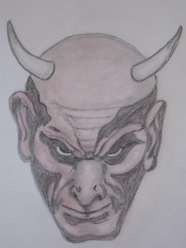 dessin satan