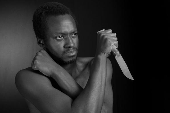 Emmanuel Buriez knife par Jean Claude Aubry