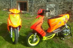 Les MachG 70cc de piste & 86cc de Run